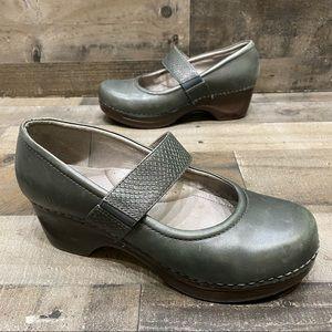 Sanita Mary Jane Womens Comfort Clogs Size 11 (41)